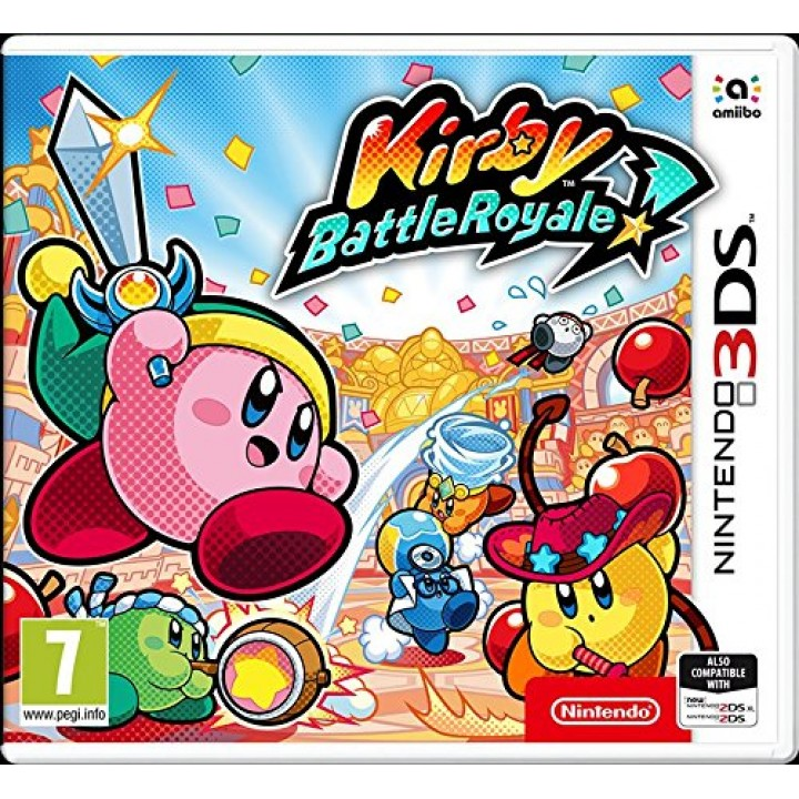 Игра для Nintendo 3DS Kirby Battle Royale