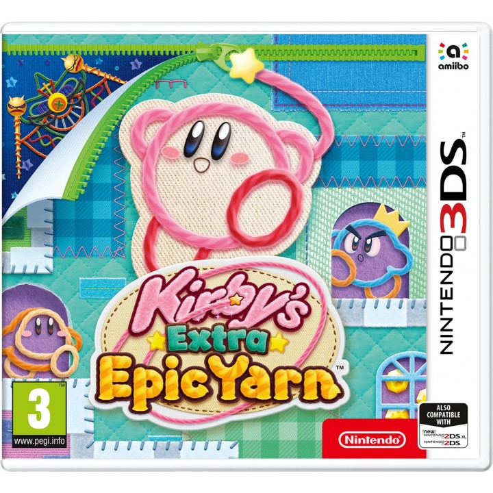 Игра для Nintendo 3DS Kirby's Extra Epic Yarn
