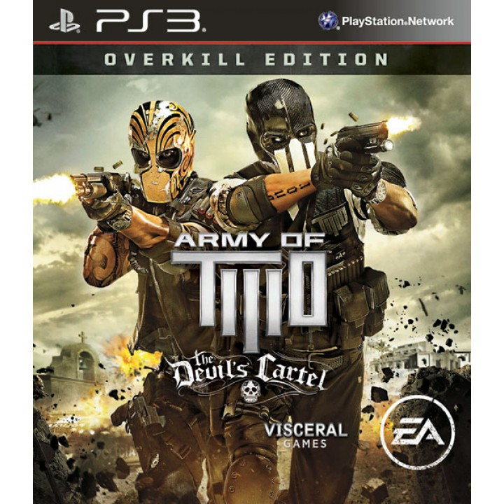Игра для Playstation 3 Army of Two: The Devil's Cartel