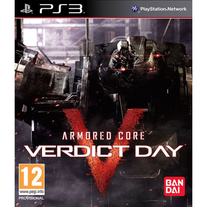 Игра для Playstation 3 Armored Core Verdict Day