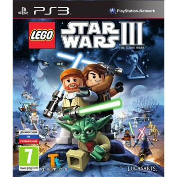 LEGO Star Wars III: The Clone Wars (Playstation 3)