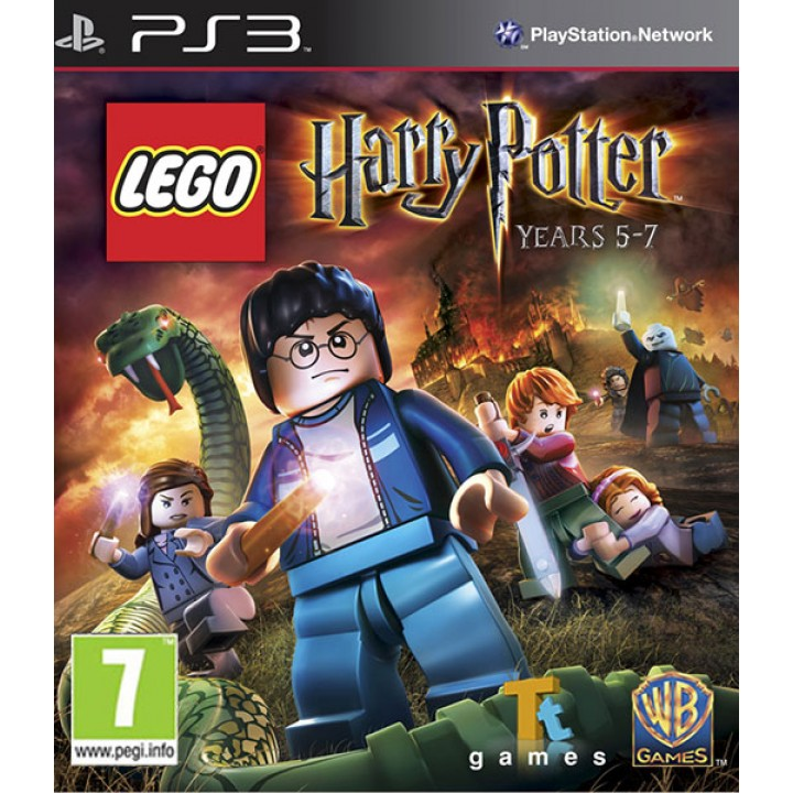 Игра для Playstation 3 LEGO Harry Potter: Years 5-7