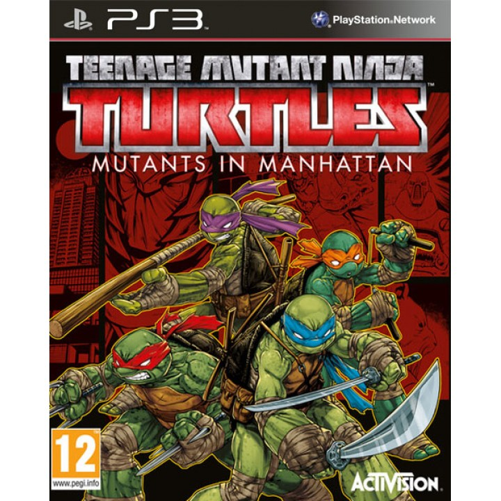 Игра для Playstation 3 Teenage Mutant Ninja Turtles: Mutants in Manhattan