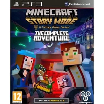 Minecraft: Story Mode - Complete Adventure [эпизоды 1-8] (Playstation 3)