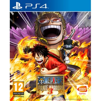 One Piece Pirate Warriors 3 (Playstation 4)