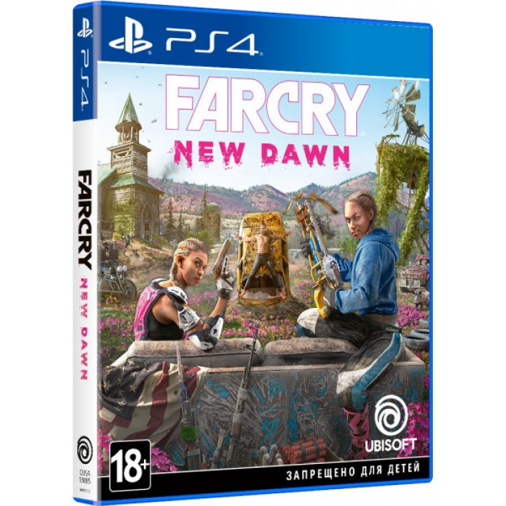 Игра Far Cry New Dawn для Playstation 4