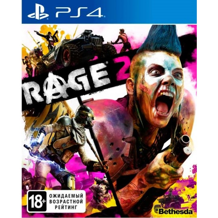 Игра для Playstation 4 Rage 2