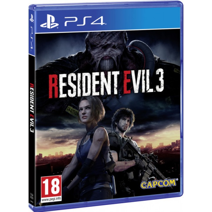 Игра для Playstation 4 Resident Evil 3