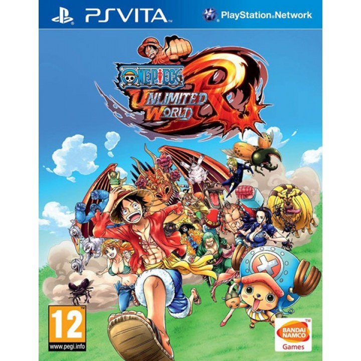 Игра для PS Vita One Piece: Unlimited World Red