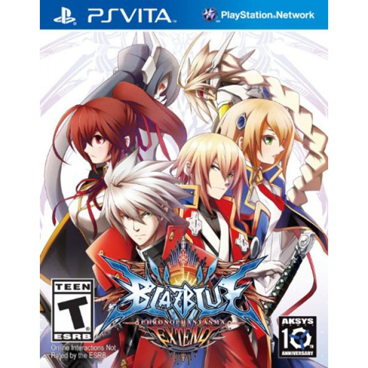 Игра для PS Vita BlazBlue: Chrono Phantasma EXTEND