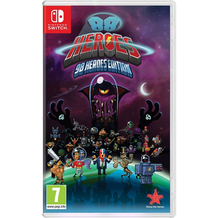 Игра для Nintendo Switch 88 Heroes: 98 Heroes Edition