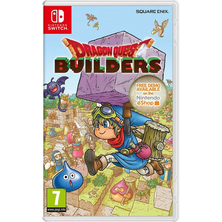 Игра для Nintendo Switch Dragon Quest Builders