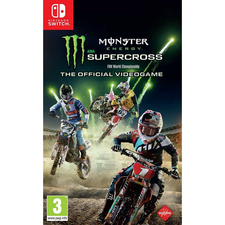Игра для Nintendo Switch Monster Energy Supercross - The Official Videogame