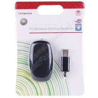 Wireless Controller Gaming Receiver Xbox 360 (Black)